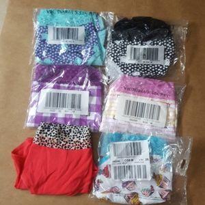 6 Victoria's secret lace waist panties medium